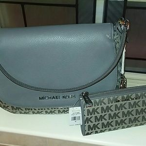 Michael Kors Bedford purse and wallet